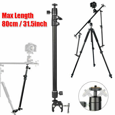 £13.80 • Buy Camera Slider Stabilizer Tripod Support Arm 360 Degree Video Slider Foldable
