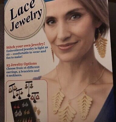 $49.95 • Buy Designs In Machine Embroidery Lace Earrings Jewelry Software Download D.I.M.E