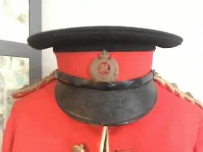WW1 Royal Engineers  Visor Cap • 120£