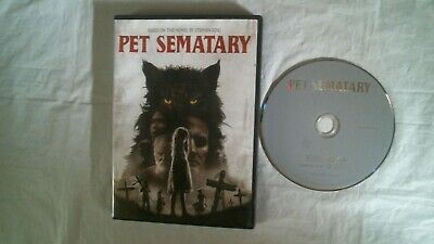 STEPHEN KING'S PET SEMATARY DVD Jason Clarke, Amy Seimetz WIDE NEAR MINT  • 3.92£