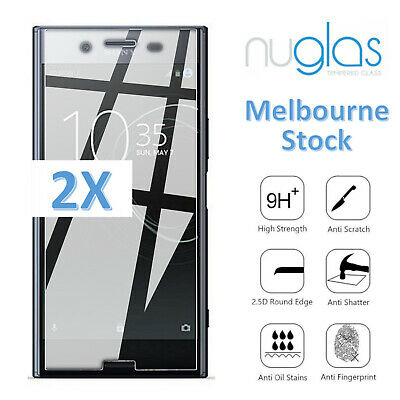 AU8.95 • Buy 2x Nuglas For Sony Xperia XA X XZ XZ1 XZ2 XP Mini Compact Ultra Screen Protector
