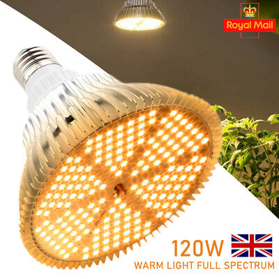 150W 414LED Grow Light E27 Sunlike Plant Growing Lamp For Indoor Plant Hydro Veg • 11.99£