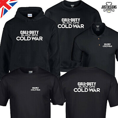 £12.50 • Buy Call Of Duty BLACK OPS COLD WAR T-shirt Zipped Hoodie Polo Shirt Jumper Vest COD