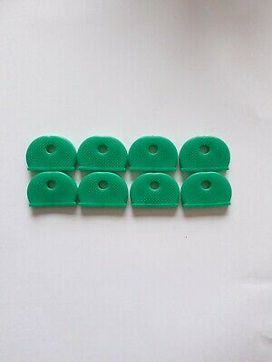 £1.99 • Buy 8 X Rubber Key Caps Coloured Covers Plastic Top Cap Covers Green