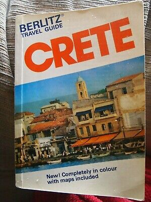 Berlitz Travel Guide Crete, 1980 • 3.85£