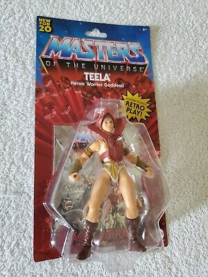 $19 • Buy Teela  MASTERS OF THE UNIVERSE HE-MAN ORIGINS MOTU RETRO NIB