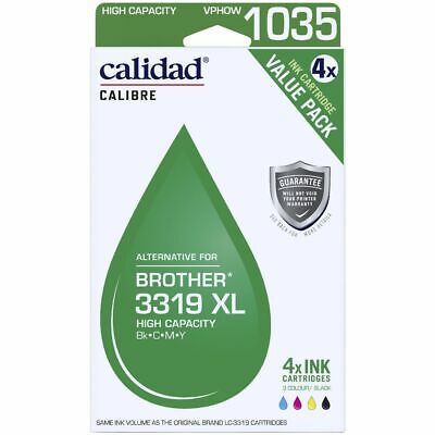 AU129 • Buy Calidad Compatible Brother LC 3319XL Ink 4 Pack