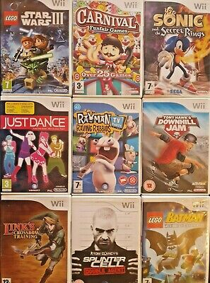 Nintendo Wii Games - Buy 1 Or Build A Bundle & Save! - Various Titles - PAL • 3.49£