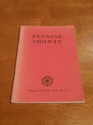 Pennine Thowts : Yorkshire Dialect Poems., BEER, Doris, Very Good Book • 3.40£