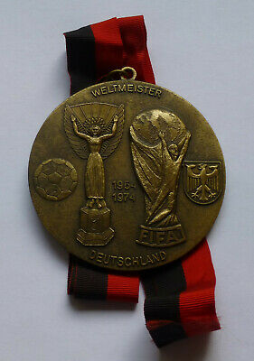£120 • Buy Germany Football Team FIFA World Cup Champion 1954 And 1974 Decoration Medal