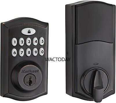 $ CDN101.22 • Buy Kwikset SmartCode 913 Keyless Entry Electronic Deadbolt Venetian Bronze