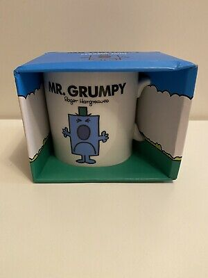 Mr Men Mr Grumpy Large Ceramic Mug • 11.99£
