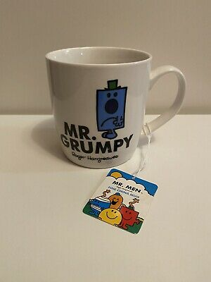 Mr Men Mr Grumpy Fine China Mug • 9.99£