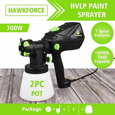 AU68.30 • Buy 700W Electric Paint Spray Gun Airless Handheld HVLP Painting Tool Home Outdoor