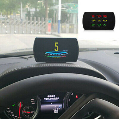 $54.80 • Buy OBD Head Up Display Speedometer  Computer Digital Speed Projector Fit For Car
