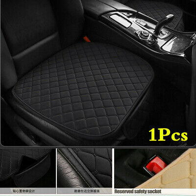 Car Short Plush Front Seat Cover Pad Protector Cushions Mat With Storage Bag • 10.70£