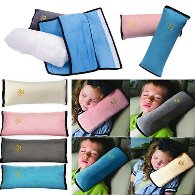 £2.99 • Buy Kids Car Safety Strap Cover Harness Pillow Shoulder Seat Belt Pad Child Cushion