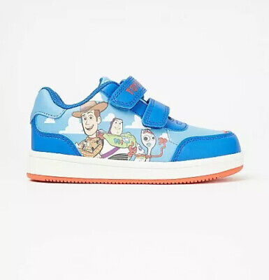 £19.99 • Buy Disney Toy Story Woody And Buzz Lightyear 2 Strap Light Up Trainers Size Infant