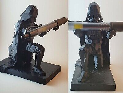 AU21 • Buy 3D Printed Star Wars Darth Vader Pen & Ring Holder