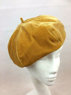 Ladies Gold Beret Excellent Fit Fully Lined Brand New • 11.95£