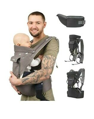 Sweety Fox - Multi-Position Baby Carrier With Hip Seat - For Babies & Child From • 20£