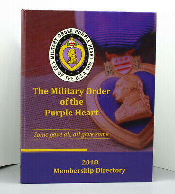 $21.99 • Buy The Military Order Of The Purple Heart 2018 Membership Directory - Book