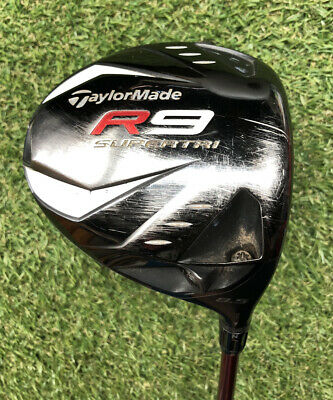 TAYLORMADE R9 SUPERTRI DRIVER (8.5 DEGREE) W/ S-FLEX SHAFT - GREAT CONDITION! • 89.99£