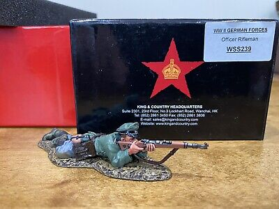 WS239 WW2 German Officer Rifleman Normandy D-Day Mint In Box WS 239 • 48£