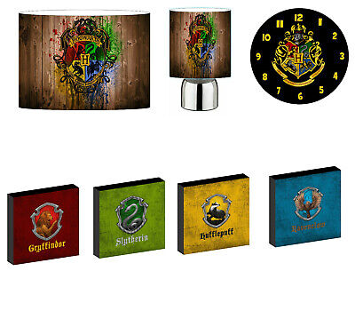 £12.97 • Buy HARRY POTTER - Choose From LIGHTSHADE,TOUCH LAMP, CLOCK, WALL ART OR BUNDLE