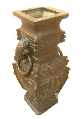 Vintage Chinese Ming Dynasty Style Bronze Vase • 90£