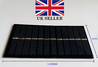 6V 1W Solar Power Panel For Any DIY Projects • 3.25£