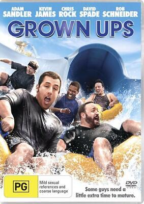 AU6 • Buy Grown Ups NEW IN PLASTIC Adam Sandler Chris Rock Kevin James DVD 2010