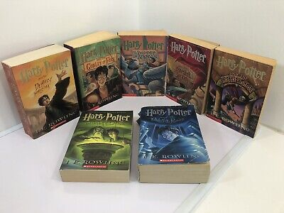 $ CDN45.56 • Buy Harry Potter Complete Set All 7 Books Paperback Rowling!!