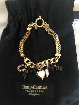 Juicy Couture Charm Bracelet Incl Ltd Ed Charms - Genuine, Vintage & Authentic • 25£