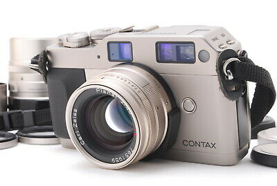 $ CDN1076.09 • Buy [N MINT+++] Contax G1 Green Label 35mm Carl Zeiss Planar 45mm & 90mm From JAPAN