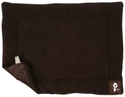 Yap Roventa Cage And Carrier Mat, Choc Faux Lambswool, 21 X 30 Inch • 13.95£