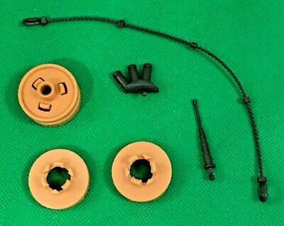 $ CDN63.78 • Buy GI Joe 1985 Mauler MBT Tank Antenna Bogie Wheel Vintage Parts Lot YOU PICK
