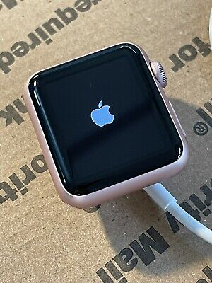 $ CDN43.85 • Buy Apple Watch Series 1 38mm Rose Gold Aluminum Case *Broken - Batt Issue? NoIC*