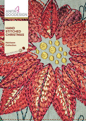 $13.99 • Buy Anita Goodesign Embroidery Machine Designs CD HAND STITCHED CHRISTMAS - NEW