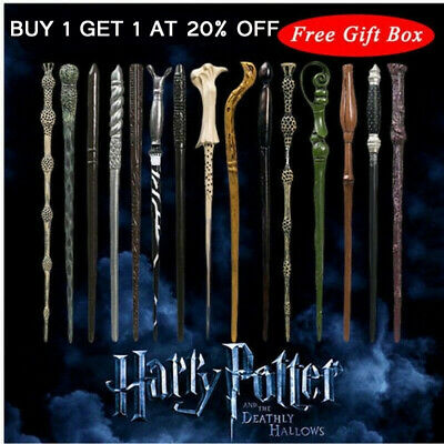 Magic Wand Harry Potter Hermione Dumbledore Voldemort Wand Cosplay Festival Gift • 5.99£