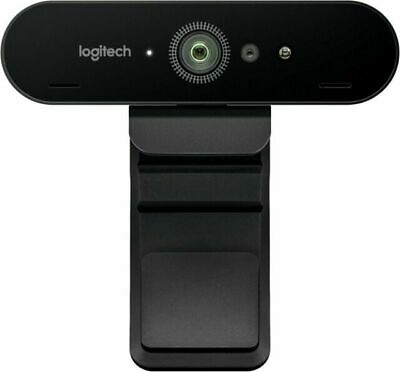 $ CDN233 • Buy Logitech BRIO 4K ULTRA HD PRO WEBCAM With HDR And Windows Hello Support, 5X Zoom