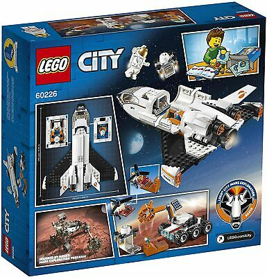 LEGO City Mars Research Shuttle Space Toy 60226 Inspired With Rover And Drone • 29.99£