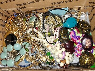 $ CDN15.68 • Buy Vintage To Now Jewelry Lot Unsearched Untested For Repurpose Resell Wear Craft