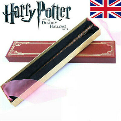 Harry Potter Wand Hermione Granger Wands Magic Stick Gifts Props Toys Xmas Boxed • 10.99£