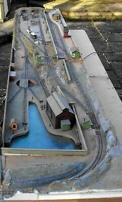Exhibition  009  Narrow Gauge - Model Railway Scenic Layout In Four Sections • 395£