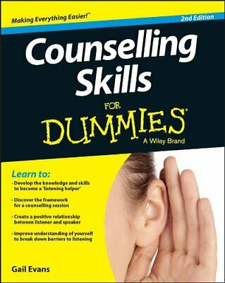 Counselling Skills FD 2e (For Dummies) New Paperback Book • 15.06£