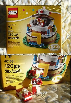 Lego Set 40153 Table Decoration Jester In Birthday Cake - Minifigure With Gift * • 19.95£