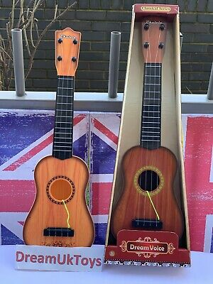 £12.99 • Buy Kids 23'' Wooden Acoustic Children Guitar Musical Instrument Child Toy Xmas  Gif