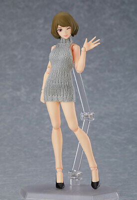 Max Factory Figma Styles Female Body (Chiaki) With Backless Sweater Coordination • 74.48£