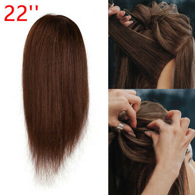 22'' Salon Hair Styling Hairdressing Practice Doll Head Training Mannequin+Clamp • 11.39£